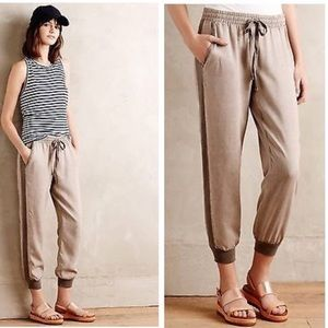 Anthropologie | Cloth + Stone Tapered Joggers